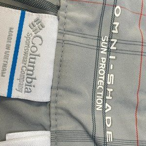 columbia Shorts - Columbia Men's omni shade sun protection size 36""